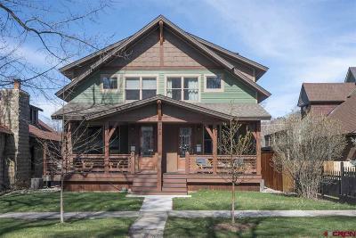 Durango Single Family Home For Sale: 541 E 3rd Avenue #A