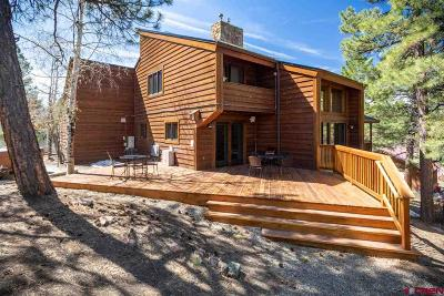 Pagosa Springs Single Family Home For Sale: 159 Walnut Place