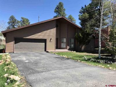 Pagosa Springs Single Family Home For Sale: 2517 Park Avenue