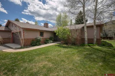 Durango Condo/Townhouse For Sale: 852 Waterfall Lane