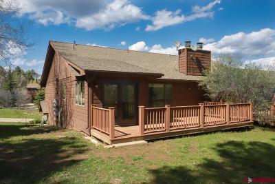 Durango Condo/Townhouse UC/Contingent/Call LB: 212 Pine Ridge Loop