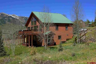 Crested Butte South Single Family Home For Sale: 134 Huckaby Way