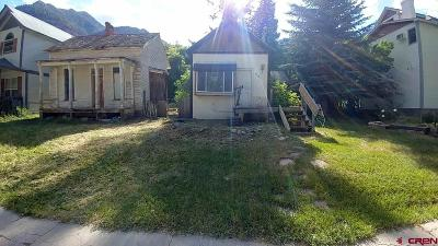 Ouray Single Family Home For Sale: 331 Second Street