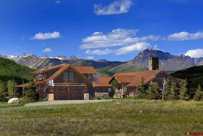 Gunnison County Single Family Home For Sale: 624 Hidden River Road