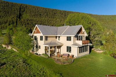 Crested Butte Single Family Home For Sale: 512 Journeys End Road