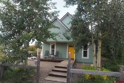 Crested Butte Single Family Home UC/Contingent/Call LB: 730 Butte Avenue