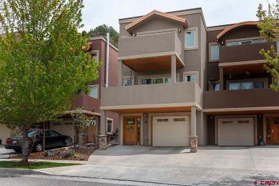 Durango Condo/Townhouse For Sale: 12 Sage Hill Court