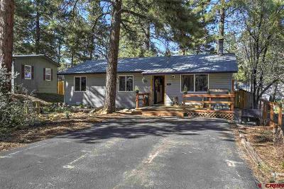 Durango Single Family Home For Sale: 127 Timber Dr