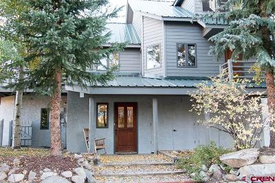 Crested Butte Single Family Home For Sale: 4 Treasury Hill Road