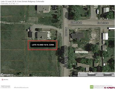 Ridgway Residential Lots & Land For Sale: 15 N Cora Street