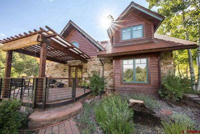 Durango Single Family Home For Sale: 45 Crystal Lane