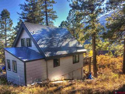 Durango Single Family Home For Sale: 15 Cliff Side Drive