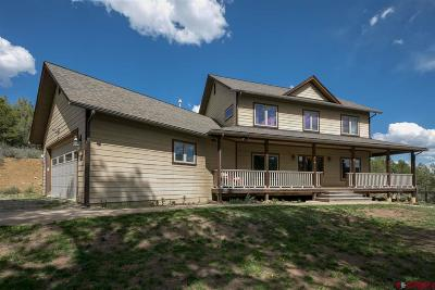 La Plata County Single Family Home For Sale: 167 Tomahawk Ridge