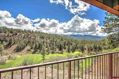 Durango Condo/Townhouse For Sale: 961 N Tamarron Drive