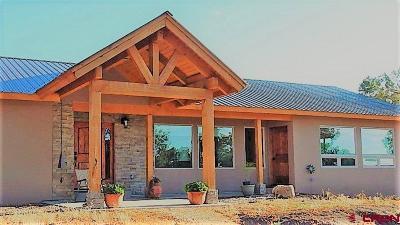 Ignacio Single Family Home For Sale: 8400 State Highway 172