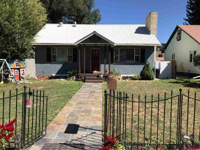 Durango Single Family Home For Sale: 2632 W 2nd