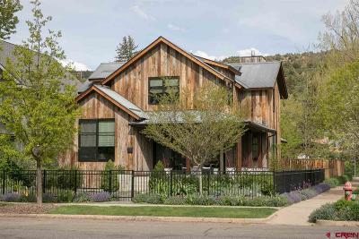 Durango Single Family Home For Sale: 802 E 5th Avenue