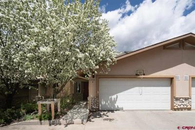 Durango Condo/Townhouse For Sale: 205 Jenkins Ranch Road #A