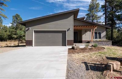 Durango Single Family Home For Sale: 122 Hay Barn Road