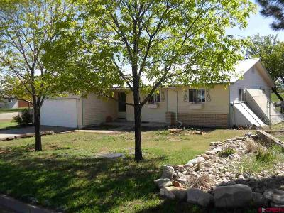 Cortez CO Single Family Home For Sale: $285,000