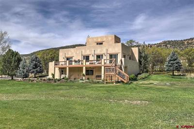 Durango Single Family Home For Sale: 1632 Hwy 550