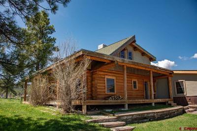 Pagosa Springs Single Family Home For Sale: 292 Loma Linda Drive