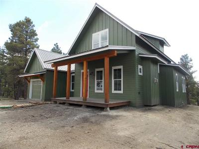 Pagosa Springs Single Family Home For Sale: 122 Mosswood
