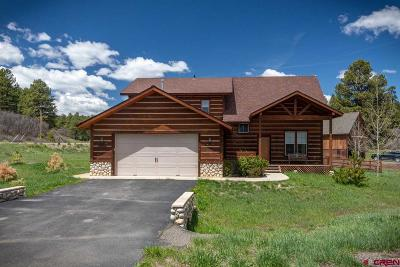 Pagosa Springs Single Family Home For Sale: 58 Chase Court