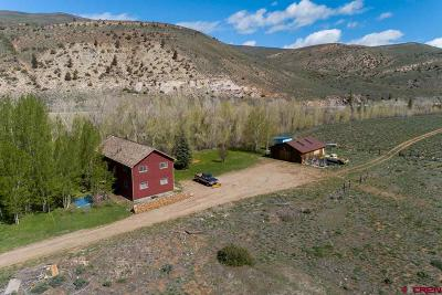 Gunnison County Single Family Home For Sale: 76 Dragon Lane