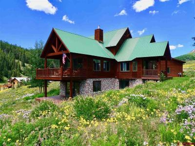 Gunnison County Single Family Home For Sale: 34 Creek Cove