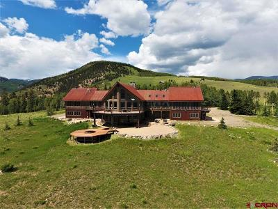 Creede Single Family Home NEW: 1 Gold Dust Road