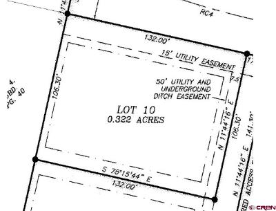 Cedaredge Residential Lots & Land NEW: 165 SE Eagle Avenue