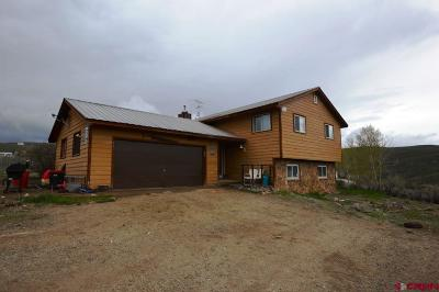 Gunnison Single Family Home UC/Contingent/Call LB: 431 Antelope Road