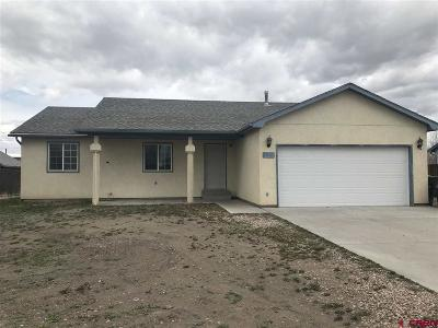 Alamosa Single Family Home NEW: 1801 San Juan