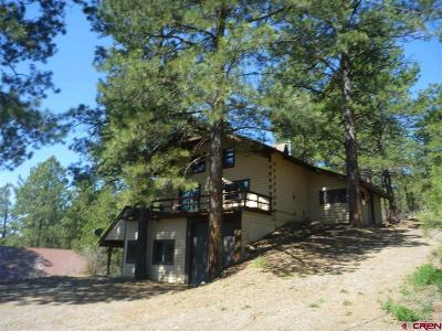Pagosa Springs Single Family Home UC/Contingent/Call LB: 64 Elk Ridge Place