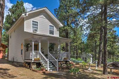 Pagosa Springs Single Family Home For Sale: 995 Oak Drive