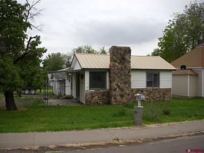 Cedaredge Single Family Home For Sale: 110 6th