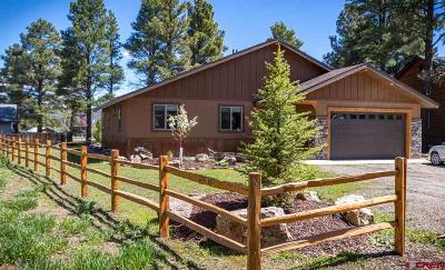 Pagosa Springs Single Family Home UC/Contingent/Call LB: 617 Oakwood Drive
