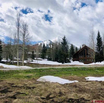 Mt. Crested Butte Residential Lots & Land NEW: 37 Belleview Drive