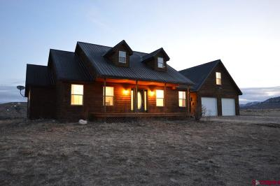 Gunnison Single Family Home For Sale: 757 County Road 75