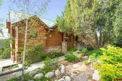 Durango Single Family Home NEW: 214 Far View Road