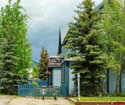 Crested Butte Condo/Townhouse For Sale: 721 Red Lady Avenue #Unit 1 B