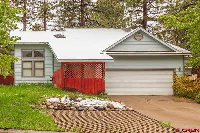 La Plata County Single Family Home UC/Contingent/Call LB: 167 Canyon Creek Trail