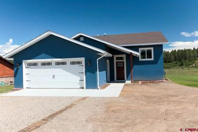 Archuleta County Single Family Home NEW: 57 Escobar Ave