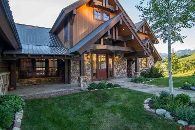 Almont, Crested Butte, Mt. Crested Butte Single Family Home For Sale: 3 Black Diamond Trail