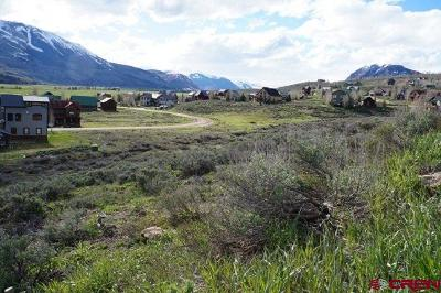 Crested Butte South Residential Lots & Land For Sale: 863 Cascadilla Street