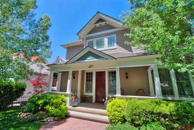 La Plata County Single Family Home UC/Contingent/Call LB: 687 E 4th Avenue