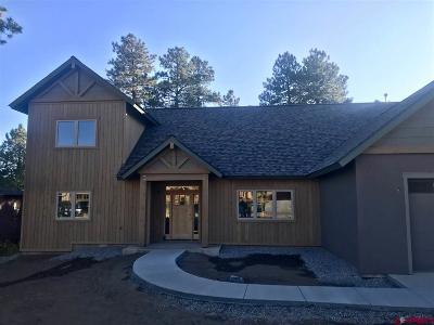 Durango Single Family Home For Sale: 442 Window Lake Trail