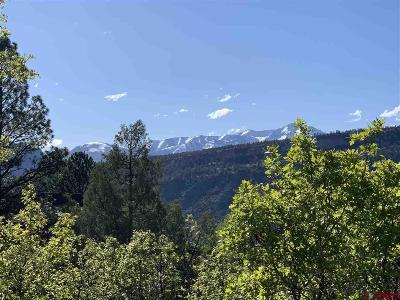 Durango Residential Lots & Land For Sale: 63 Highland Hill Drive