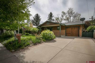 Durango Single Family Home For Sale: 908 Spruce Drive